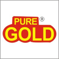 Pure gold logo